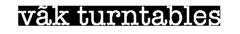 vãk turntables Logo